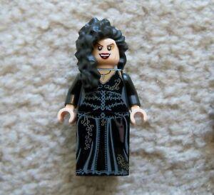 LEGO-Harry-Potter-Rare-Original-Bellatrix-Lestrange-Minifig-Excellent