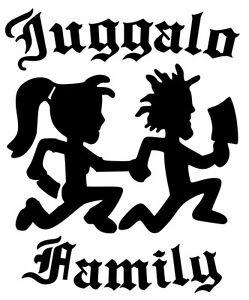 hatchet man girl juggalo family funny vinyl car sticker bumper