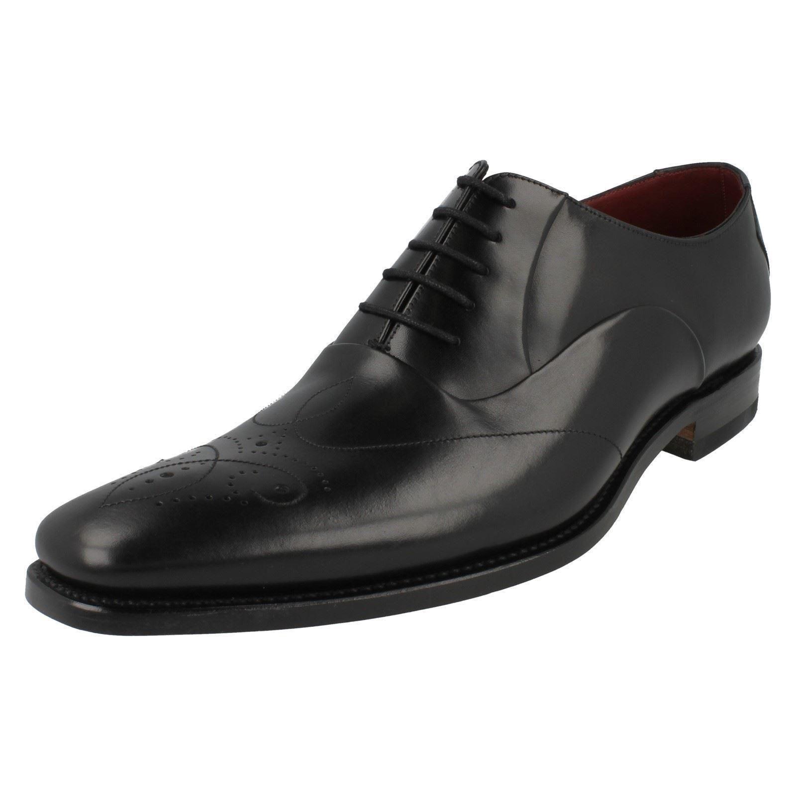 Herren Rupfen F Fassung schwarze geschnürte Leder Schuhe von Loake