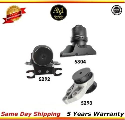 Engine Motor /& Trans Mount Set 3PCS 5304 5292 5293 Mazda Tribute 2.0//3.0L 01-04*