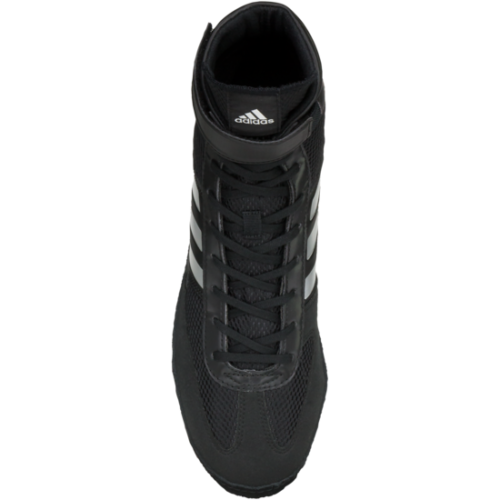 best website b6a24 18f3a ... adidas Combat Speed 5 Wrestling Shoes Boots Black Boxing MMA MMA MMA  e37316