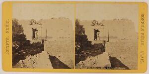 Egitto-Nubia-Foto-Bonfils-Stereo-P28T4n21-Vintage-Albumina-c1870