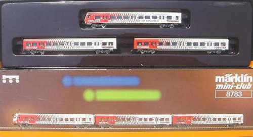 Märklin 8783 S-Bahn Rhein-Rhur -