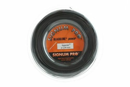 Signum PRO Tennis Stringa Hyperion 1.18 mm BOBINA 200 M-nera-spedizione gratis in UK