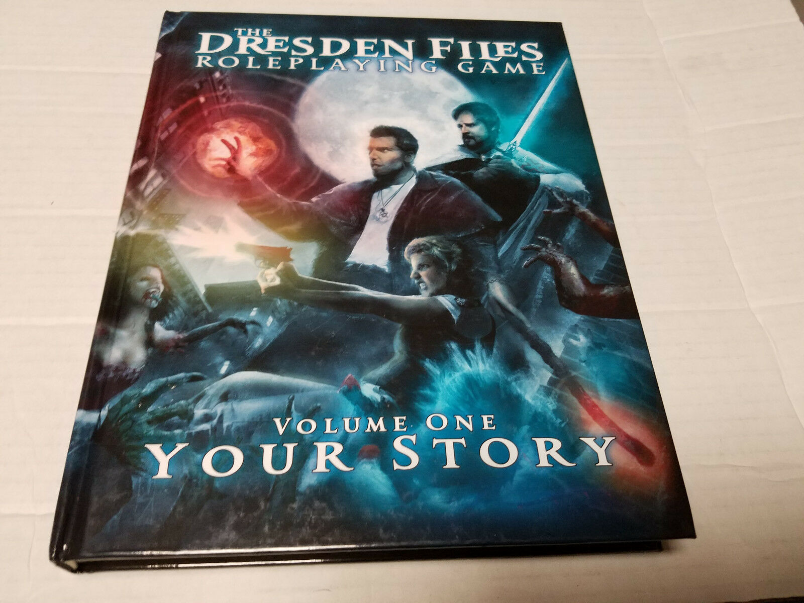 The Dresden Files Roleplaying Game Volume One  Your Story USED HC SIGNED