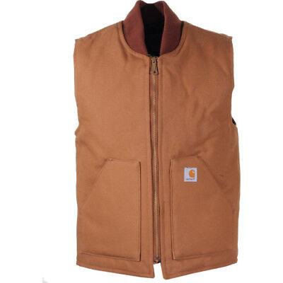 Carhartt Workwear Duck Arctic Quilt Lined Hommes Veste Chaufferette Doudoune