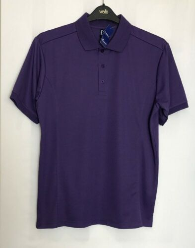 X//L /& 2X//L PR615 New Premier Mens Fast Dry Cool Checker Polo Work Shirt  Size L