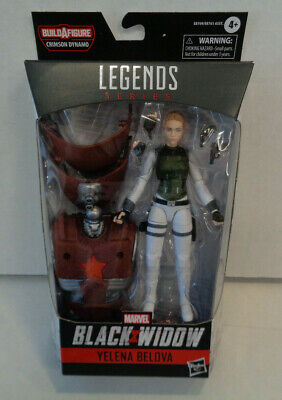 dans sa boîte Marvel Legends Yelena Belova Figurine Crimson Dynamo Vague No BAF-New /& En parfait état
