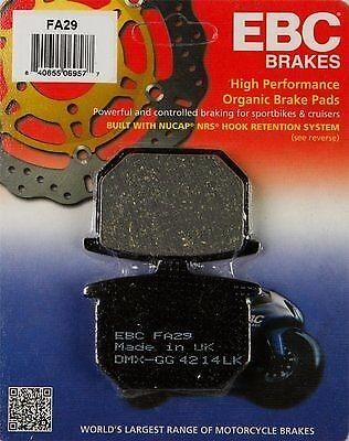 1979-1981 HONDA CB 650 A CB650 FRONT EBC PERFORMANCE ORGANIC BRAKE PADS