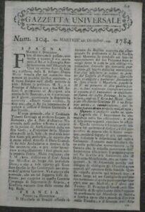 1784-039-GAZZETTA-UNIVERSALE-039-RARO-GIORNALE-CON-NOTIZIE-DAL-MONDO