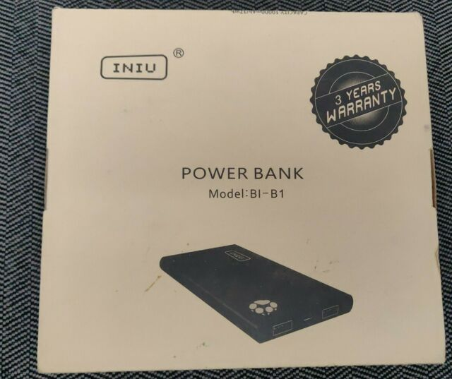 Iniu Bi B1 10000mah Power Bank Black For Sale Online Ebay