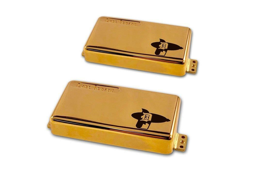Lace D3BK Disintegrators Humbucker set - Gold