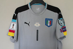 ITALY GOALKEEPERS JERSEY SHIRT BUFFON WORLD CUP ITALY Vs ALBANIA 2017 JUVENTUS - Stockport, United Kingdom - ITALY GOALKEEPERS JERSEY SHIRT BUFFON WORLD CUP ITALY Vs ALBANIA 2017 JUVENTUS - Stockport, United Kingdom