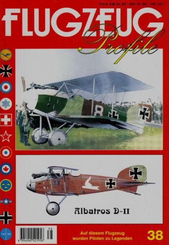2fp38// FLUGZEUG Profile Albatros D.II Heft 38 TOPP HEFT