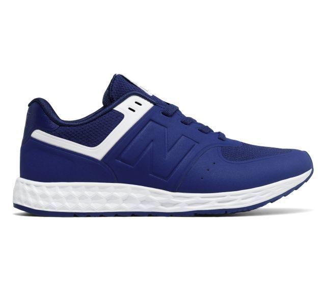 New Balance damen 574 Fresh Foam Trainers Blau UK 4 EU 38.5 LN091 GG 04