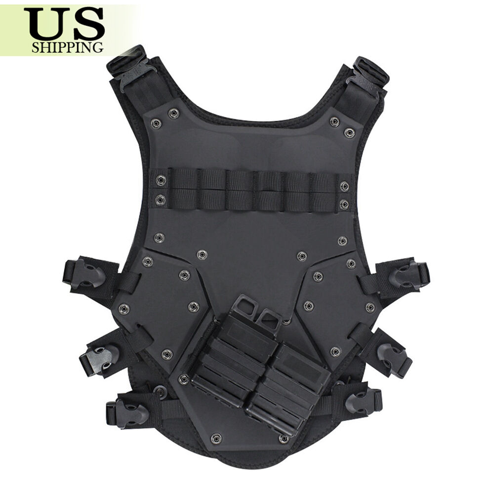Tactical Vest CS TF3 TMC Cosplay Airsoft Combat Hunting w  2 Magazines Holders