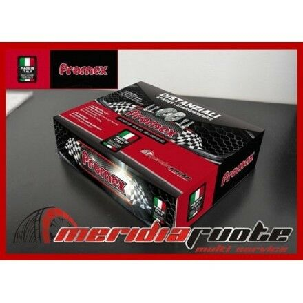 COPPIA DISTANZIALI DA 16mm PROMEX MADE IN ITALY PER AUDI A6 4B//4F S6