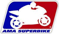 M138 (1) 6 Ama Superbike Sponsor Decal Racebike Race Bike Gsxr Cb Laminated