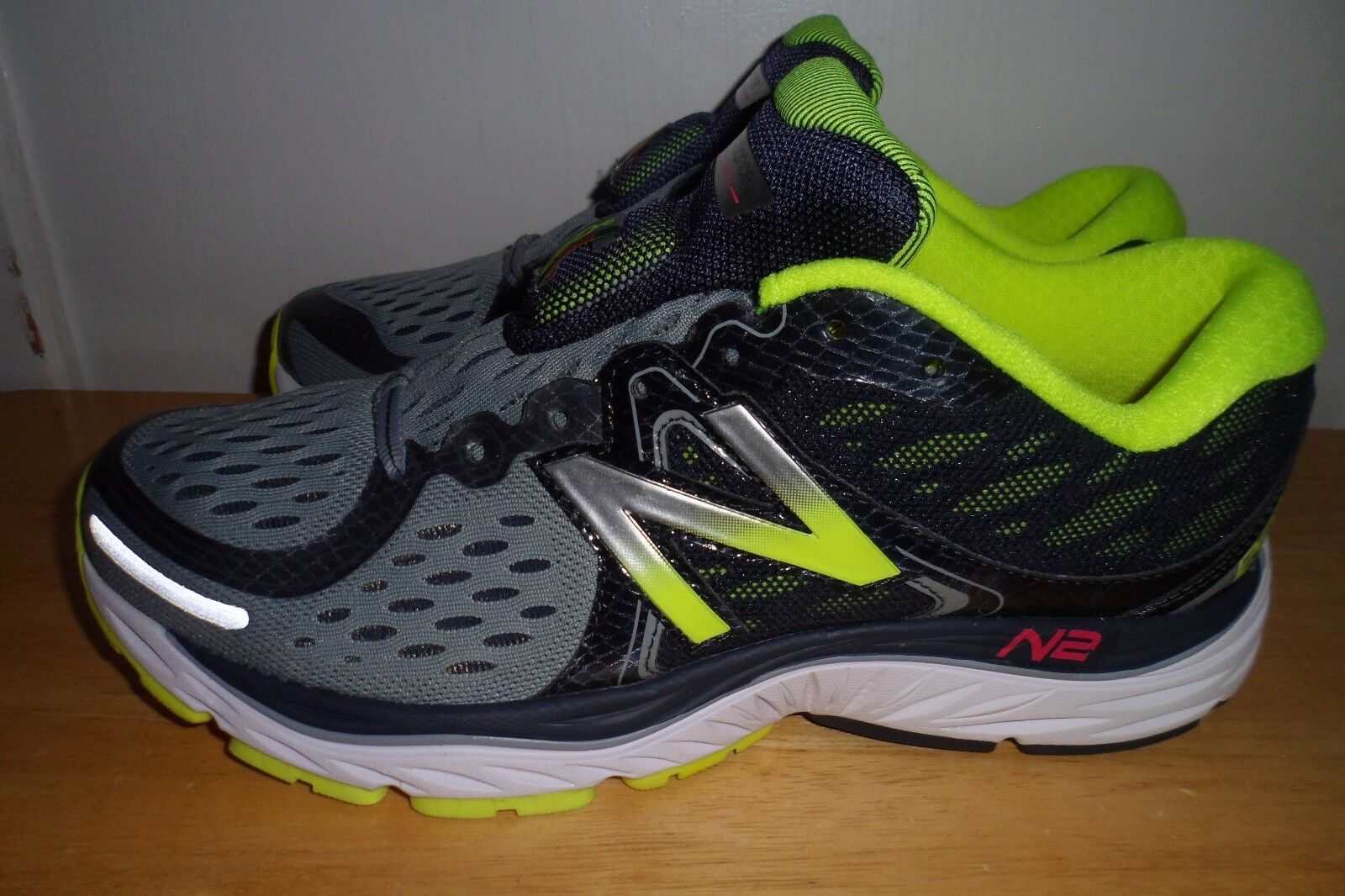 MUST SEE AWESOME  149.99 2016 NEW BALANCE 8 1260v6 M1260GY6 Uomo 8 BALANCE D MINT CONDITION 94c8d1