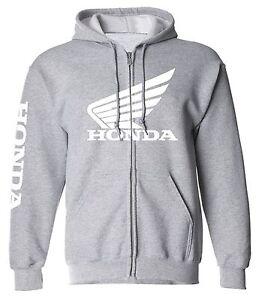 600rr con cappuccio Felpa Racing Zip con Honda Cbr 250 up Cr Felpa 450 cerniera Hrc q66wrXxS5