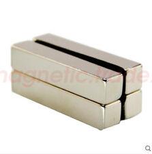 Long Bar 50mm X 10mm X 10mm Block Rare Earth Neodymium Craft Magnets N50
