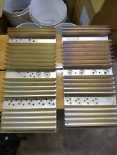 Aluminum Heat Sink Large Qty 2 15 12 X 7 14 X 1 14 8lbs Total