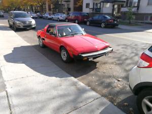 Fiat x19 Bertone 1981