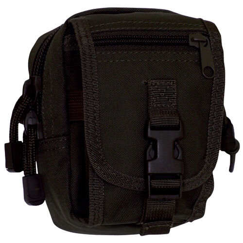NEW Military Tactical Multi-Purpose Accessory MOLLE Gear Pouch SWAT BLACK
