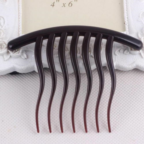 Hair Accessories Inserted Comb Tools Tooth Wave Resin Hair Braider Seven Comb