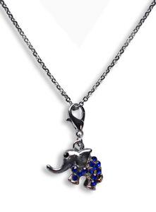 Edelstahl-Halskette-40-75cm-mit-Charm-Anhaenger-Elefant-2-3-x-1-8cm-669e
