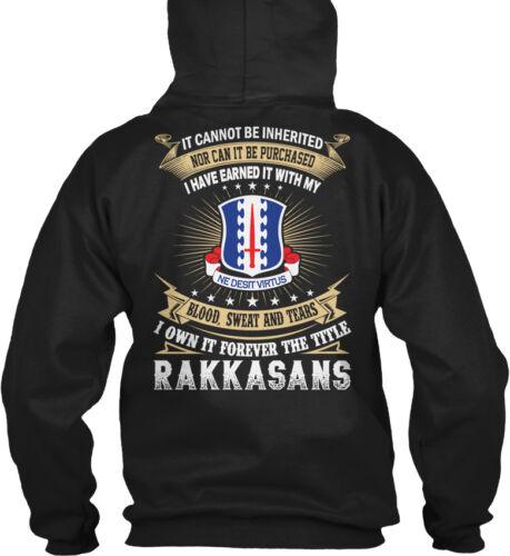It Cannot Be Inherited Nor Can Purchased I Gildan Hoodie Sweatshirt Rakkasans