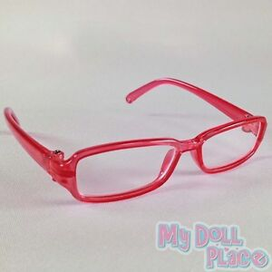 Pink-Glasses-Cute-Plastic-Accessories-made-for-18-in-American-Girl-Doll-Clothes