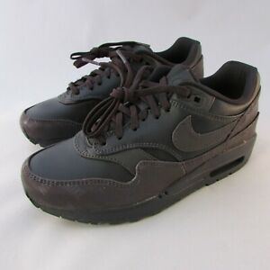 Nike-Air-Max-1-Reflective-Women-039-s-Running-Shoes-917691-001-Size-6-5-Purple-Black