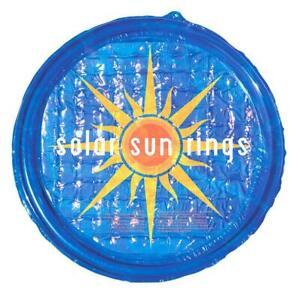 Solar Sun Rings Patterned 5' Round Passive Solar Pool Heating SSR-SB-02