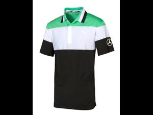 Details about Mercedes-Benz Men's golf polo shirt XXL B66450326