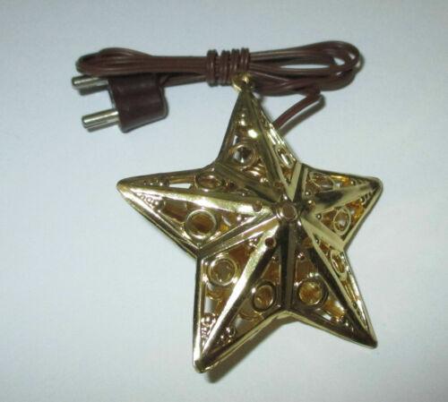 Kahlert für Krippen   NEU//OVP Stern gold filigran ca.40mm  3,5 Volt