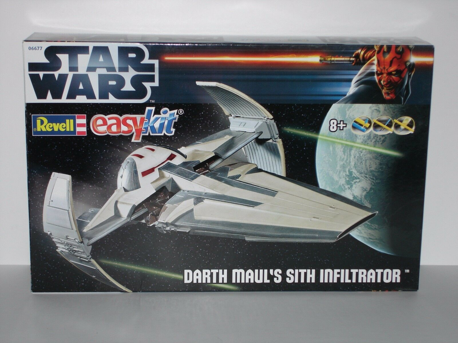 STAR WARS Sith Infiltrator (Episode 1) - Easykit - Revell 06677