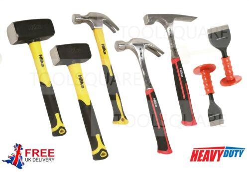 Brick Bolster Brick Layer Tools Set Heavy Duty Brick Hammer Club Lump Hammer
