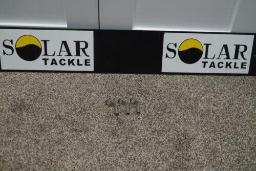 SOLAR STAINLESS HOCKEY STICKS LONG X3 USED CARP COARSE FISHING TACKLE GEAR SETUP