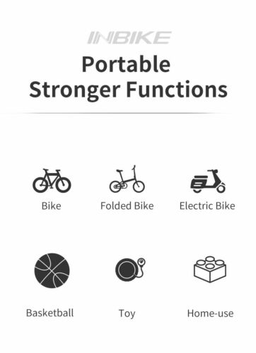 Portable Bicycle Pump Mini Hand Pump Cycling Air Pump Ball Toy Tire Inflator MTB