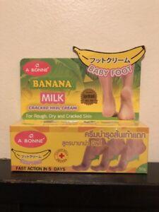 Image Is Loading A Bonne Banana Milk Ed Heel Cream 50g