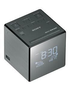 Sony Digital DAB+ Alarm Clock Radio - Black
