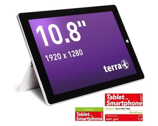 TERRA MOBILE Touch PAD 1062 mit 64GB und Windows 10 Home
