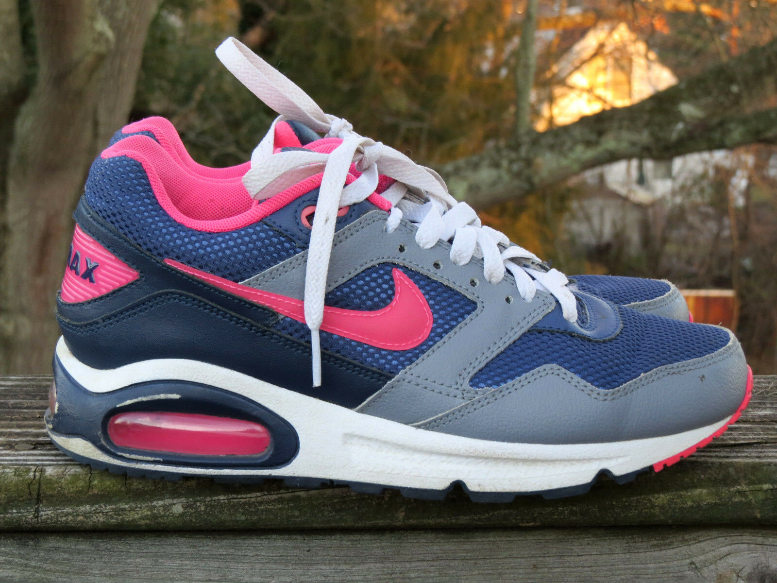 711d54f9546f NIKE AIR MAX Jordans Jordans Jordans PINK Navigate Running Walking Athletic  Womens Shoes Sz 8 6e9ce2