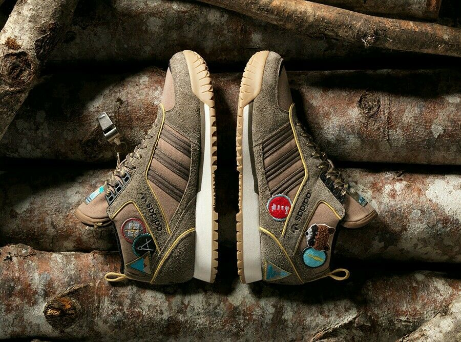Adidas Originals ZX TR Mid Extra Butter Vanguard Scout Leader Hiking Trail Shoe
