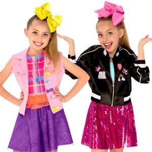 3108c9f5e1429 Jojo Siwa Girls Fancy Dress Youtube Celebrity Diva Music Idol Child ...