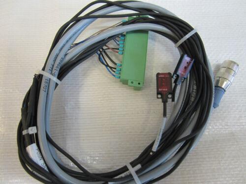 OMRON E3T-FD13 SENSORS WITH TURCK U-01539 CABLE 2