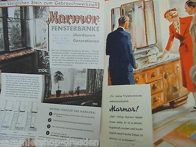 Kataloge & Prospekte Sammeln & Seltenes EntrüCkung 21142 25 Prospekte Blätter Marmor Schreibgarnituren A4 Vorkrieg Baustoffe Möbel