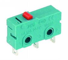 Microschalter Taster Umschalter 250V/5A 1-polig gefedert Einschalter Ausschalter