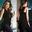 Women-Summer-Loose-Top-Cross-Fishtail-Back-Irregular-Blouse-Casual-Tops-T-Shirt thumbnail 7